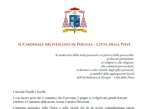 Invito S. Em. Card. Bassetti