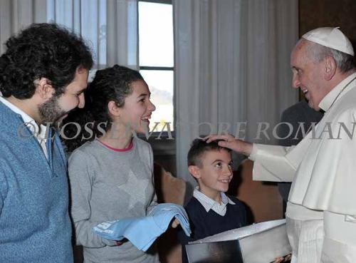 Auguri Papa Francesco